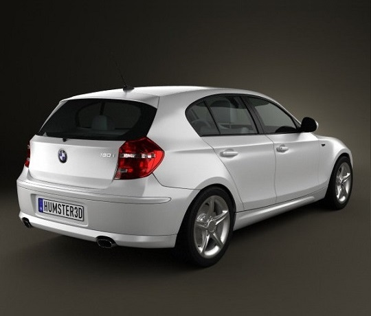 bmw 1 series rear view