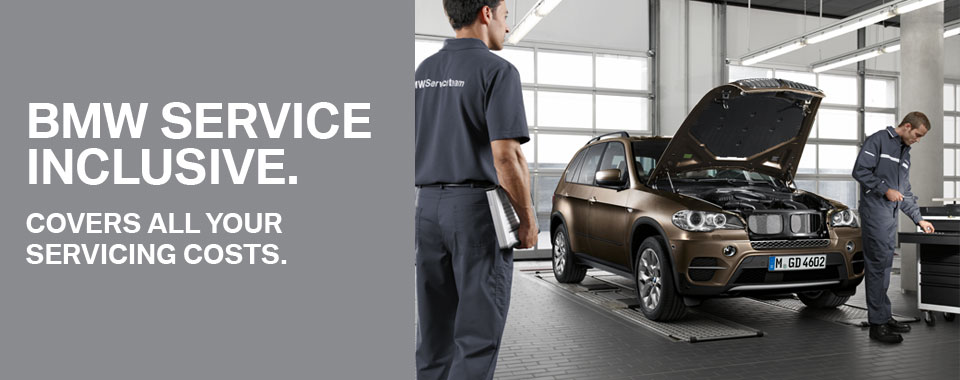intro image of bmw service inclusive package