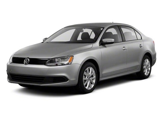 VW Jetta front view