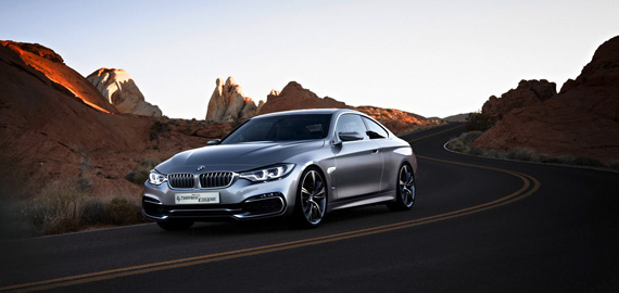 intro image of bmw 4 series coupe