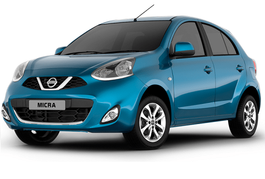 nissan micra front view
